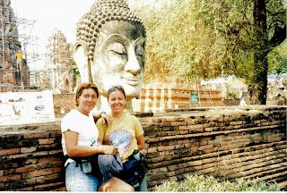 Ayutthayah. Gladys & yo