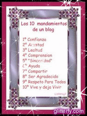 Los 10 mandamientos de un blog