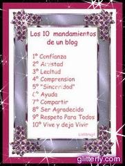 Los 10 mandamientos de un blog