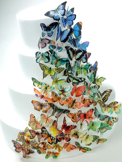 Cake Decoration Butterfly : Let Them Eat Cake (At Your Wedding): Butterflies To ...