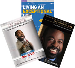 Les Brown Video Combo Package