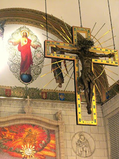 Hanging Rood in the Carmel Chapel.