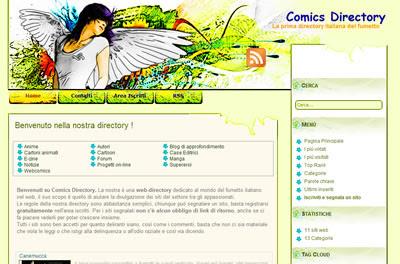 Comics Directory, La prima directory italiana del fumetto