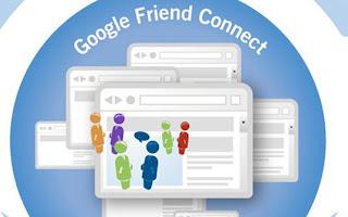 O Google Friend Connect é um projeto que visa tornar os sites em geral mais sociais. Ele consiste em vários aplicativos que permitem a interação entre as pessoas e seus contatos de redes sociais