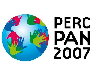 Perc Pan Salvador - Panorama Percussivo Mundial em 18 e 19 de setembro de 2008