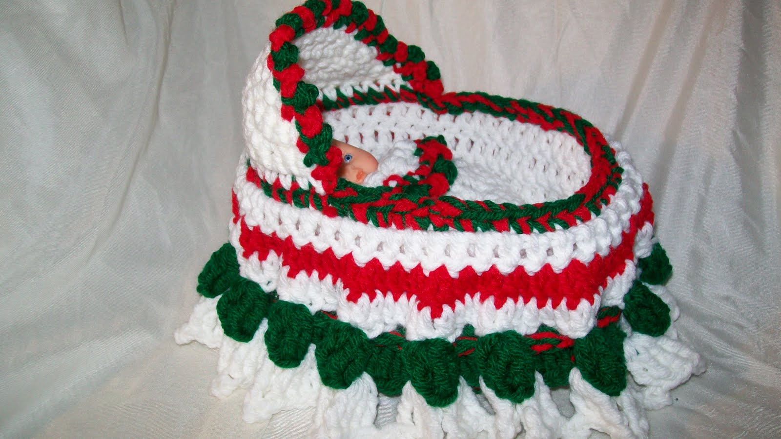 My Crocheted and Knitted Items: Cradle Purse special order....