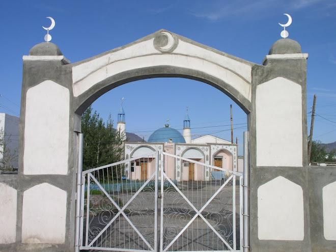 A MONGOLIAN MOSQUE