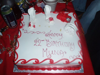 Muna's birthday cake!