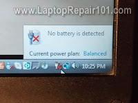 Bateri Laptop Tak detect ?