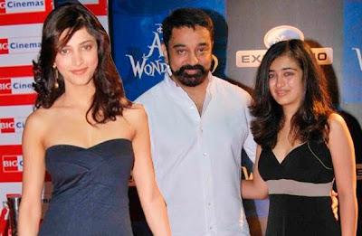 Kamal's Daughter Akshara Haasan Has Been To Act