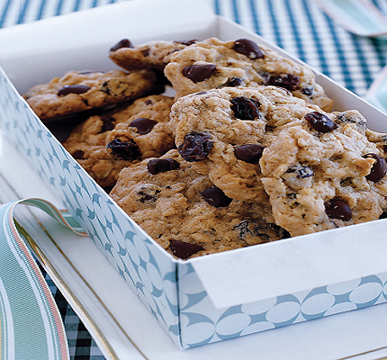 For chewy cookies, bake the