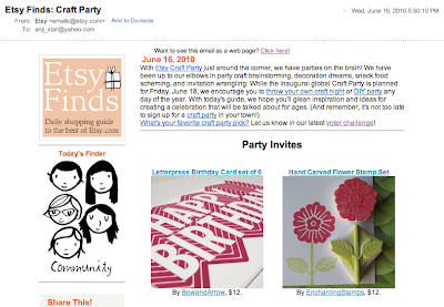 Etsy Finds: Craft Party