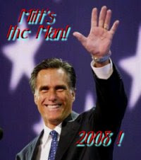 Mitt's The Man! 2008! 200