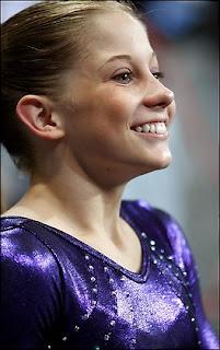 The Shawn Johnson smile
