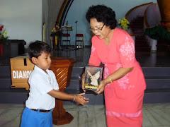Selamat atas penamatan murid TK Immanuel