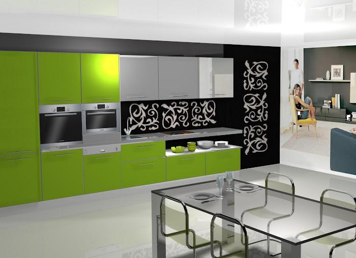 Diseño de cocina en linea