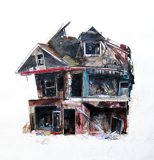 Artists Who Draw Old Buildings