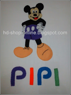 kaos nama mickey mouse