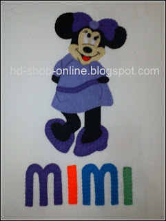 kaos nama minnie mouse
