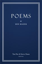 POEMS by Ben Mazer