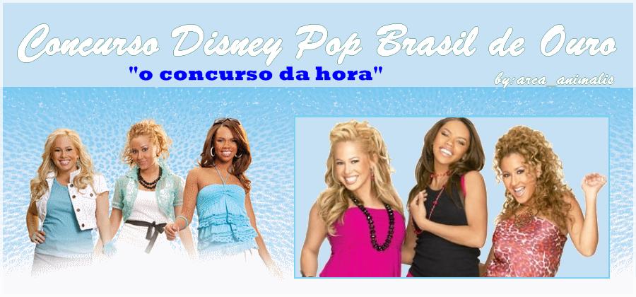 """Disney pop brasil de Ouro """"O CONCURSO DA HORA""""..."""