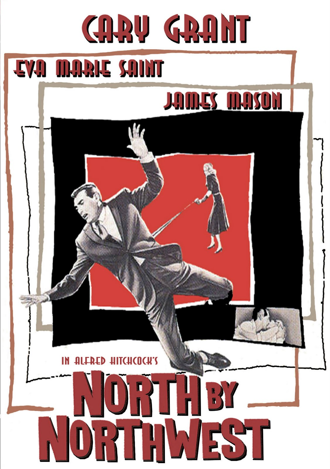 north by northwest a 1959 thriller On july 17, 1959, alfred hitchcock unveiled his latest suspense thriller, north by northwest, in theaters in los angeles the film, starring cary grant and eva marie saint, was nominated for three .