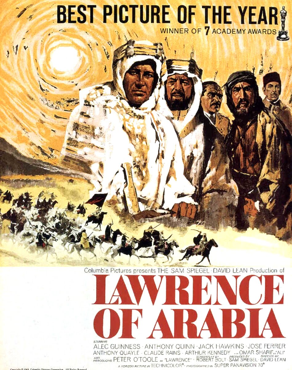 MOVIE POSTERS: LAWRENCE OF ARABIA (1962)