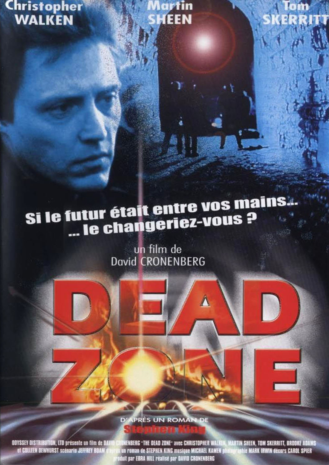 MOVIE POSTERS DEAD ZONE 1983