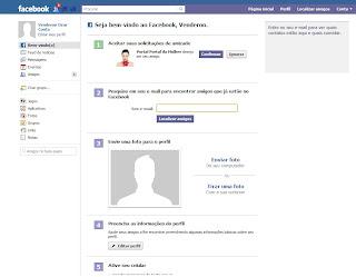 Criar Perfil no Facebook