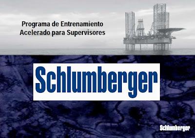 Programa de Entrenamiento para Supervisores Schlumberger