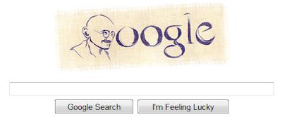 ghandi google home page