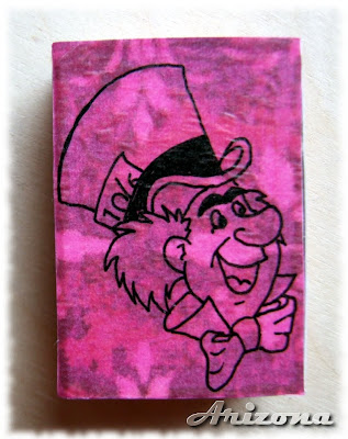 mad hatter matchbox alice in wonderland