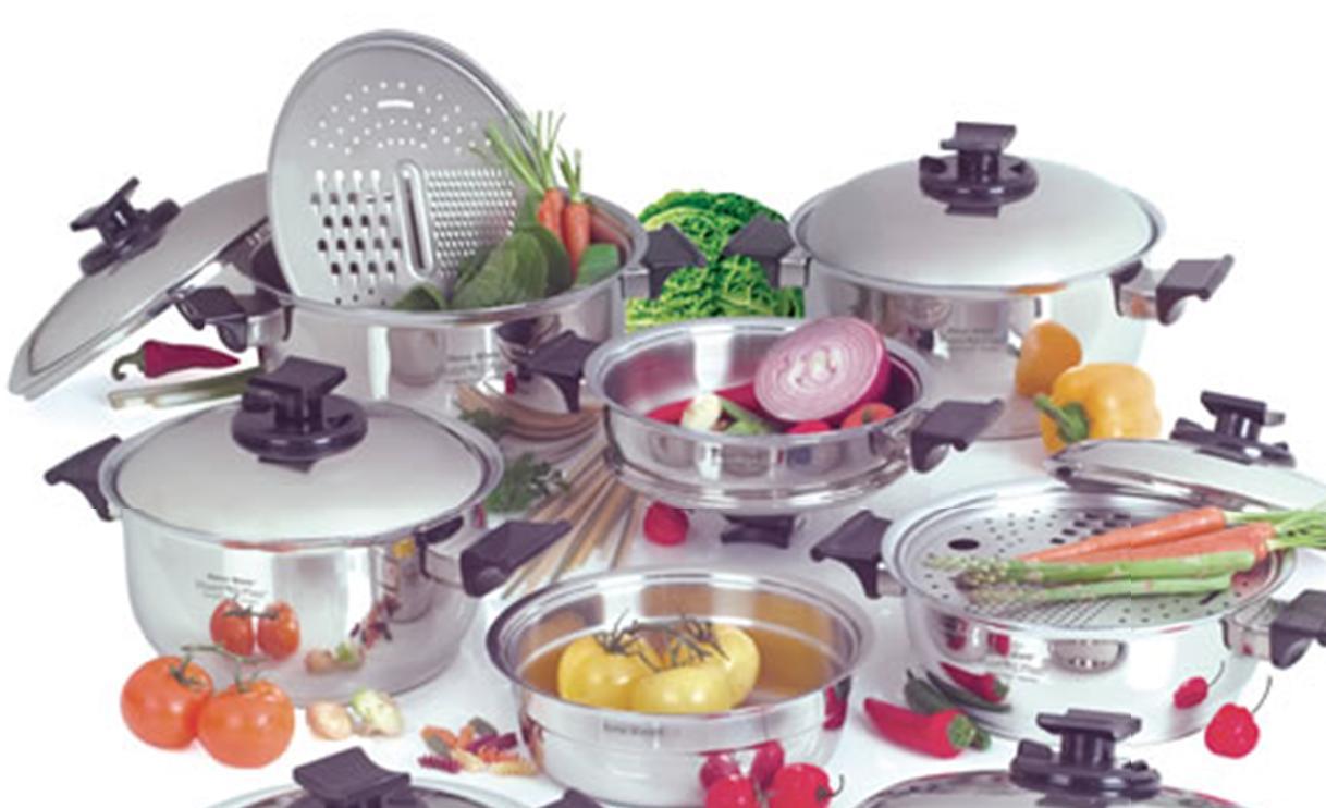 Rena ware cocina por inducci n for Utensilios para servir comida