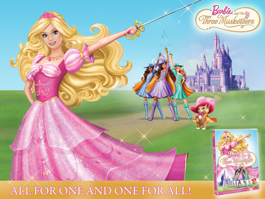 Barbie Three Musketeers Barbie Movies 16429748 1024 768