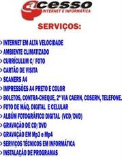 ACESSO INTERNET E INFORMATICA