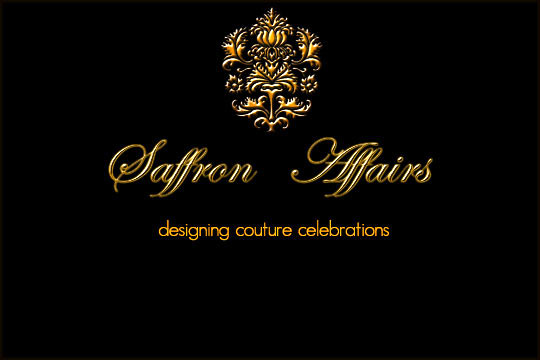 Saffron Affairs- Designing Couture Celebrations