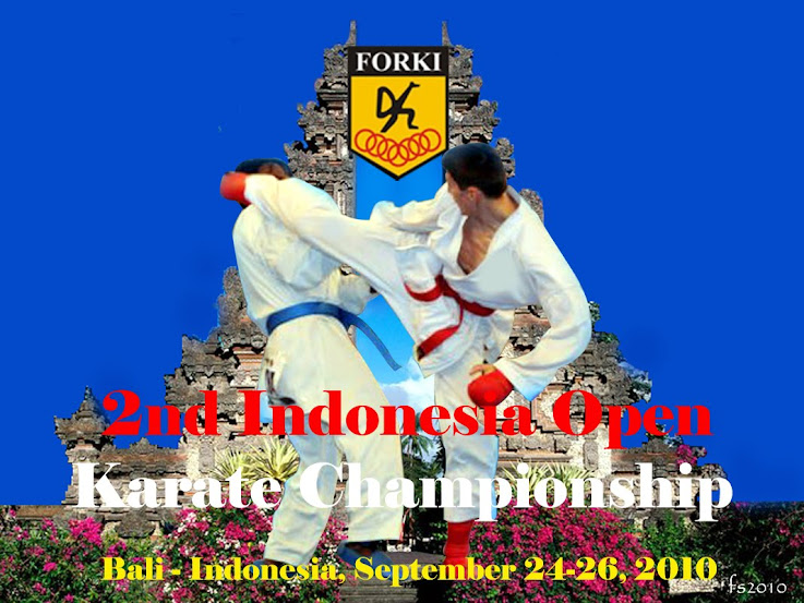 The 2nd Indonesia Open Karate Championship 2010