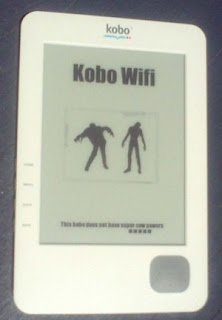 Image of Kobo with modified splash screen