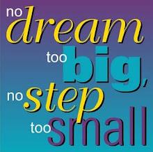 A blog where no dream is too big...