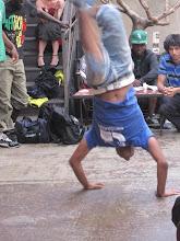 Les danseurs de 1er Avertissement ont fait preuve de virtuosité...