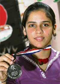 pictures of saina nehwal player in shuttle