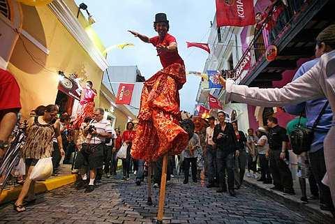 The San Sebastian Street