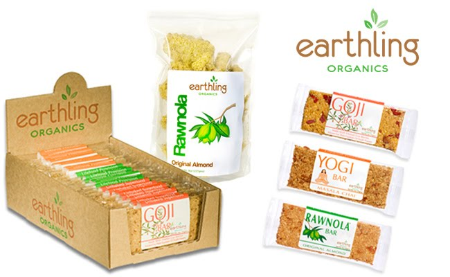 Visit Earthling Organics to view our raw, organic, food bars.