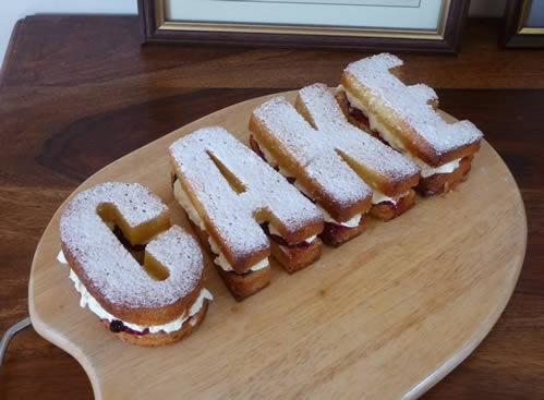 Silcone Mould Letters Cake Making