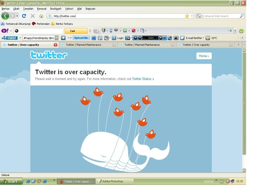 Broken Glasses: Twitter says, \