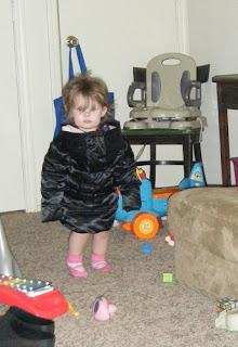 Sasha in Backward Coat