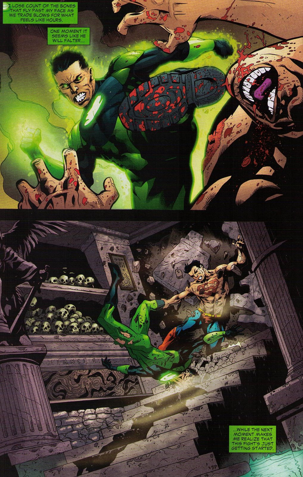 DCs Terrible Job Coordinating Countdowns Story With Respect To The Other Titles In DCU Simply Robs Green Lantern Corps 18 Of Any Its Impact