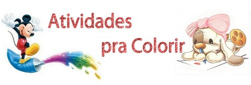 Atividades para Colorir