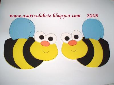 Molde de abelha em EVA