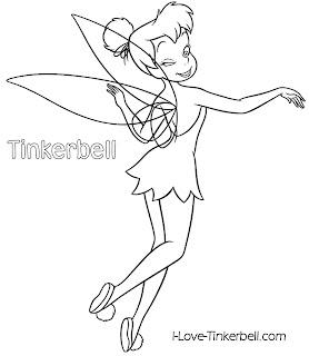 Download Tinkerbell para imprimir e colorir | Desenhos e Riscos